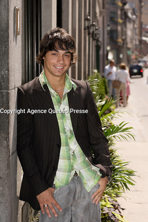 Montreal (Qc) CANADA , August  2007  <br /> <br /> Pierre-Paul Alain, actor <br /> photo : (c) images Distribution