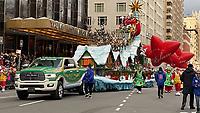 NEW YORK, NY - NOVEMBER 28: Santa Claus at the Macy's Thanksgiving Day Parade in New York, New York on November 28, 2019.  <br /> CAP/MPI/RMP<br /> ©RMP/MPI/Capital Pictures