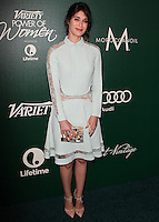 BEVERLY HILLS, CA, USA - OCTOBER 10: Lizzy Caplan arrives at the 2014 Variety Power Of Women held at the Beverly Wilshire Four Seasons Hotel on October 10, 2014 in Beverly Hills, California, United States. (Photo by Celebrity Monitor)