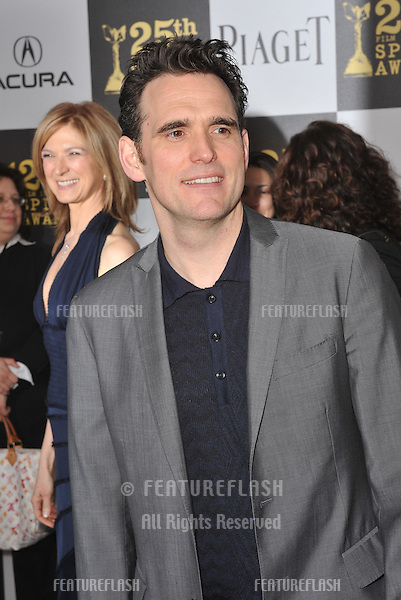Matt Dillon at the 25th Anniversary Film Independent Spirit Awards at the L.A. Live Event Deck in downtown Los Angeles..March 5, 2010  Los Angeles, CA.Picture: Paul Smith / Featureflash