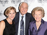 Kathleen Marshall, Garry Marshall, Barbara Marshall attend the Off-Broadway opening Night Performance of 'Billy & Ray' at the Vineyard Theatre on October 20, 2014 in New York City.