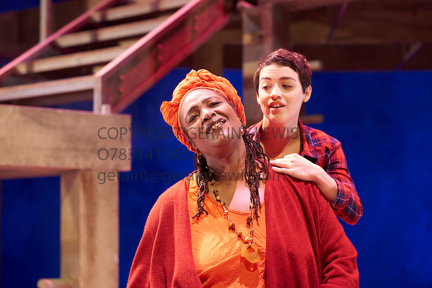Romeo and Juliet by William Shakespeare, directed by Sally Cookson. With Audrey Brisson as Juliet, Sharon D Clarke as Nurse. Opens at The Rose Theatre, Kingston upon Thames  on 4/3/15. CREDIT Geraint Lewis