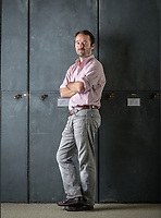 Portrait of John McCormack, Assistant Professor of Biology. September 19, 2012. <br /> (Photo by Marc Campos, Occidental College Photographer)