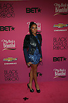 "BET Music Matters' Noni Attends ""BLACK GIRLS ROCK!"" Honoring legendary singer Patti Labelle (Living Legend Award), hip-hop pioneer Queen Latifah (Rock Star Award), esteemed writer and producer Mara Brock Akil (Shot Caller Award), tennis icon and entrepreneur Venus Williams (Star Power Award celebrated by Chevy), community organizer Ameena Matthews (Community Activist Award), ground-breaking ballet dancer Misty Copeland (Young, Gifted & Black Award), and children's rights activist Marian Wright Edelman (Social Humanitarian Award) Hosted By Tracee Ellis Ross and Regina King Held at NJ PAC, NJ"