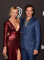 LOS ANGELES, CALIFORNIA - JANUARY 06: Malin Akerman and Jack Donnelly attend the Warner InStyle Golden Globes After Party at the Beverly Hilton Hotel on January 06, 2019 in Beverly Hills, California. <br /> CAP/MPI/IS<br /> &copy;IS/MPI/Capital Pictures