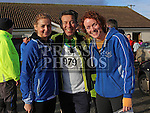 Audrey Gannon, Nigel Cassidy and Margo Brady at the Annagassan 10km.<br /> <br /> <br /> Photo - Jenny Matthews