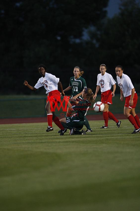 Ohio University @ Ohio State University Women's Soccer, August 28th, 2009