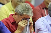 SAO PAULO, SP, 14.09.2013 - PT / ENCONTRO REGIAO METROPOLITANA - <br /> O ex-presidente Luiz In&aacute;cio Lula da Silva durante o Grande Encontro da Regi&atilde;o Metropolitana do PT estadual de S&atilde;o Paulo, na Quadra dos Banc&aacute;rios, na capital paulista, neste sabado, 14. (Foto: Vanessa Carvalho / Brazil Photo Press).