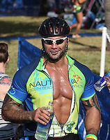 Dave Bautista at the 5th Annual Nautica South Beach Triathlon to benefit the St. Jude Children.s Research Hospital. Miami Beach, Florida. April 1, 2012. © Majo Grossi/MediaPunch Inc.
