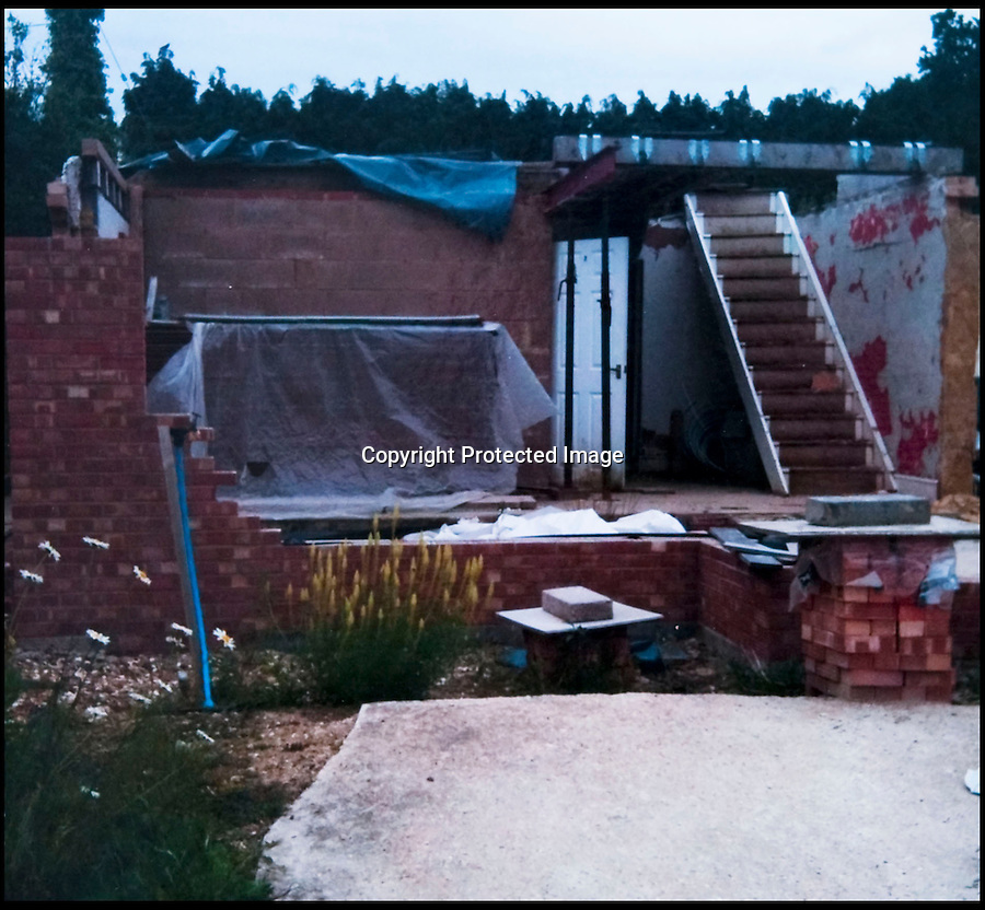 BNPS.co.uk (01202 558833)<br /> Pic: PhilYeomans/BNPS<br /> <br /> Early stages.<br /> <br /> Plucky Carol Sullivan turned a £160,000 black hole left by cowboy builders into one million pound house - after building her dream home herself.<br /> <br /> Carol was left severley out of pocket after her luxury home was built with sub-standard mortar - meaning the whole structure had to be pulled down when the project was half way through.<br /> <br /> After firing the builders and waving goodbye to £160,000, undaunted Carol(50) enrolled on a bricklaying course at her local college and learned how to build the house herself. <br /> <br /> Further courses in carpentry and plumbing  have enabled determined Carol to complete the project in a year. The house is now thought to worth £1 million.