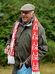 A Stoke City fan arrives for today's premier league match at the Britannia Stadium, Stoke. Picture date 19th August 2017. Picture credit should read: Robin Parker/Sportimage