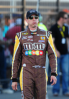 Feb 29, 2008; Las Vegas, NV, USA; NASCAR Sprint Cup Series driver Kyle Busch during qualifying for the UAW Dodge 400 at Las Vegas Motor Speedway. Mandatory Credit: Mark J. Rebilas-US PRESSWIRE