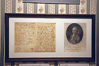 Mozartmuseum in der Villa Bertramka, Prag, Tschechien, Unesco-Weltkulturerbe