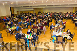 A the start of tthe Tralee Credit Union Schools Quiz Brandon hotel on Sunday were