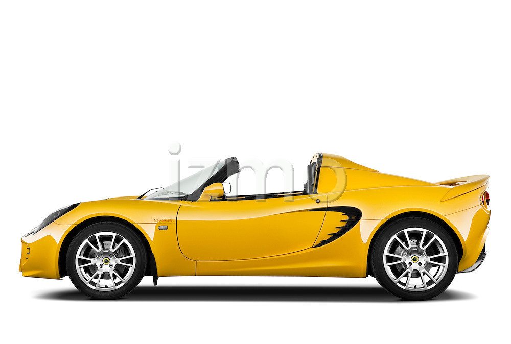 Driver side profile view of a 2009 Lotus Elise SC 2 Door Convertible.