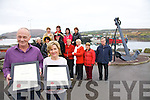 Portmagee shines brightest as it wins the Title of Irelands First Tourism Town, pictured here front l-r; John Murphy(Chair Portmagee Tidy Towns), Deirdre Moran, middle l-r; Eileen Whelan, Helen Farmer, Gabriel Butler, Kathleen Barry, Mary Grandfield, Mairead Lynch, Danny Lynch, back l-r; Helen Shanahan, Kathleen O'Driscoll, Marion Martin & Patricia Kennedy(Sec. Portmagee Tidy Towns).