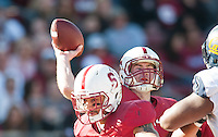 Stanford, California, 11-23-2013- Stanford's Kevin Hogan during the 116th Big Game at Stanford Stadium on Saturday in Stanford, CA.