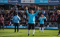 Joe Gatto during The Impractical Jokers (Hit US TV Comedy) filming at Wycombe Wanderers FC at Adams Park, High Wycombe, England on 5 April 2016. Photo by Andy Rowland.