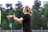 Cary, North Carolina  - Saturday May 04, 2019: North Carolina Courage vs Sky Blue FC at Sahlen's Stadium at WakeMed Soccer Park.