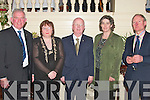 Enjoying the Listowel Badminton Club Social in The Listowel Arms Hotel on Saturday night, were, Johnny Brosnan, (President  Kerry Badminton Association), Catherine Brosnan, Currow, Junior Griffin, (Chairman Kerry Badminton Association), Mary and Michael MCGrath, Waterford. ..   Copyright Kerry's Eye 2008