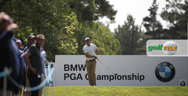 Nicolas Colsaerts (BEL) during Round One of the 2016 BMW PGA Championship over the West Course at Wentworth, Virginia Water, London. 26/05/2016. Picture: Golffile | David Lloyd. <br /> <br /> All photo usage must display a mandatory copyright credit to &copy; Golffile | David Lloyd.