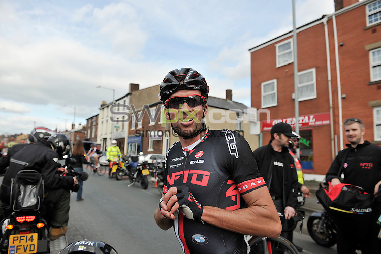 Picture by Alex Whitehead/SWpix.com - 04/04/2015 - British Cycling - Spring Cup Elite Series - Chorley Grand Prix, Chorley, England - NFTO Ian Bibby