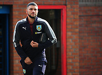 Burnley's Nahki Wells arrives at Selhurst Park<br /> <br /> Photographer Ashley Crowden/CameraSport<br /> <br /> The Premier League - Crystal Palace v Burnley - Saturday 13th January 2018 - Selhurst Park - London<br /> <br /> World Copyright &copy; 2018 CameraSport. All rights reserved. 43 Linden Ave. Countesthorpe. Leicester. England. LE8 5PG - Tel: +44 (0) 116 277 4147 - admin@camerasport.com - www.camerasport.com