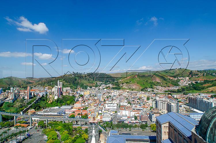 Vista geral da cidade de Aparecida do Norte, Aparecida - SP, 10/2016.