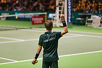 Rotterdam, The Netherlands, 16 Februari 2019, ABNAMRO World Tennis Tournament, Ahoy, Semis, Ballboy,<br /> Photo: www.tennisimages.com/Henk Koster