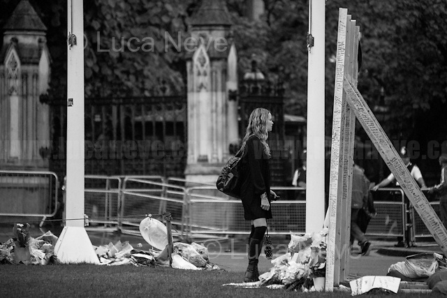 """""""Vigil & Memorial for Jo Cox MP in London's Parliament Square"""" (Jo Cox was a Labour Member of Parliament who was brutally killed by the far-right extremist Thomas Mair on the 16th of June 2016).<br /> <br /> 23.06.2016 - The Voting Day.<br /> <br /> London, March-July 2016. Reporting the EU Referendum 2016 (Campaign, result and outcomes) observed through the eyes (and the lenses) of an Italian freelance photojournalist (UK and IFJ Press Cards holder) based in the British Capital with no """"press accreditation"""" and no timetable of the main political parties' events in support of the RemaIN Campaign or the Leave the EU Campaign.<br /> On the 23rd of June 2016 the British people voted in the EU Referendum... (Please find the caption on PDF at the beginning of the Reportage).<br /> <br /> For more information about the result please click here: http://www.bbc.co.uk/news/politics/eu_referendum/results"""
