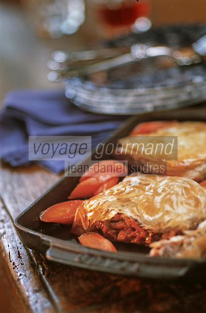 Europe/France/Bretagne/35/Ille-et-Vilaine/Saint-Malo: Croustillant de pied de porc et carottes des sables caramélisées -