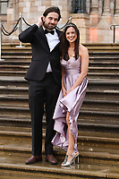 "Jamie Jewitt and Camilla Thirlow<br /> arriving for the world premiere of ""Our Planet"" at the Natural History Museum, London<br /> <br /> ©Ash Knotek  D3491  04/04/2019"