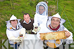 HONEY: Preparing for the forthcoming beekeeping course to be held in Killorglin in November, l-r: Mary Curran, Emmet Spring (South Kerry Development Partnership), Caoimhe Purcell, Pat Curran.