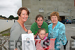 WALKING TALL: Members of the Castleisland Community Centre who are hosting Mountain climbers Ian McKeever and 10 year old Sean McSharry to an open day talk at the Centre on August 17th..L/r. Sinead O'Connor, Tara O'Riordan, Mary O'Riordan and Anne O'Connor.   Copyright Kerry's Eye 2008