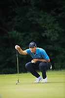 Nicolas Colsaerts (BEL) during the second round of the Shot Clock Masters, played at Diamond Country Club, Atzenbrugg, Vienna, Austria. 08/06/2018<br /> Picture: Golffile | Phil Inglis<br /> <br /> All photo usage must carry mandatory copyright credit (&copy; Golffile | Phil Inglis)