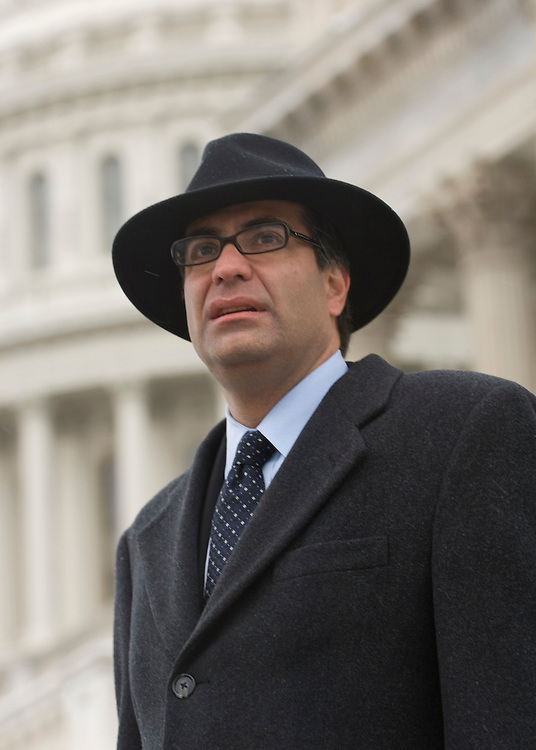 Ivan H. Adler, of the The McCormick Group, poses on the steps of the U.S. Capitol on Friday, Dec. 7, 2007.