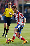 Atletico de Madrid´s Ansaldi during 2014-15 La Liga match between Atletico de Madrid and Deportivo de la Coruña at Vicente Calderon stadium in Madrid, Spain. November 30, 2014. (ALTERPHOTOS/Victor Blanco)