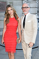 Elizabeth Hurley &amp; Patrick Cox at the Victoria and Albert Summer Party held at the Victoria and Albert Museum in London, UK. <br /> 21 June  2017<br /> Picture: Steve Vas/Featureflash/SilverHub 0208 004 5359 sales@silverhubmedia.com