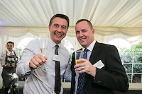 Andrew Macmillan of Gteley Plc and Stephen Bateman of Derbyshire Health United