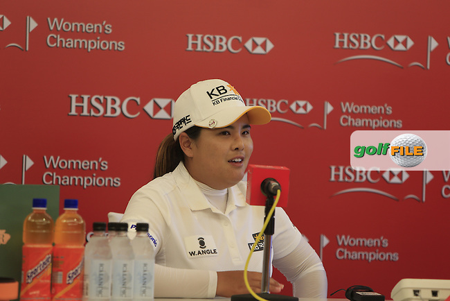 Inbee Park (KOR) winner of the 2015 HSBC Women's Champions at the Sentosa Golf Club, The Serapong Course in Singapore on Sunday 8th March 2015.<br /> Picture:  Thos Caffrey / www.golffile.ie