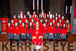 Pupils from Holy Cross/Mercy NS with Bishop Ray Browne at their Confirmation in St Mary's Cathedral on Friday with Ursulla Coffey Principal, Rhonda Daly and Alice Davern teachers Fr Niall Howard, Fr Kieran O'Brien, and Fr Jim Lynch