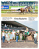 Firey Rockette winning at Delaware Park  on 6/20/12