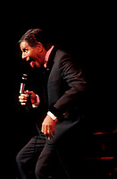 FILE - Jerry Lewis at Place-des-arts circa 1987<br /> <br /> Photo : Pierre Roussel - Agence Quebec Presse <br /> <br /> NOTE : New LS-5000 scans