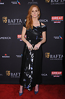 06 January 2018 - Beverly Hills, California - Sarah Rafferty. 2018 BAFTA Tea Party held at The Four Seasons Los Angeles at Beverly Hills in Beverly Hills.    <br /> CAP/ADM/BT<br /> &copy;BT/ADM/Capital Pictures