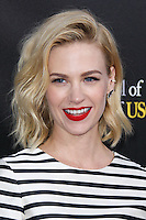 HOLLYWOOD, LOS ANGELES, CA, USA - MARCH 20: January Jones at the 2nd Annual Rebels With A Cause Gala Honoring Larry Ellison held at Paramount Studios on March 20, 2014 in Hollywood, Los Angeles, California, United States. (Photo by Xavier Collin/Celebrity Monitor)