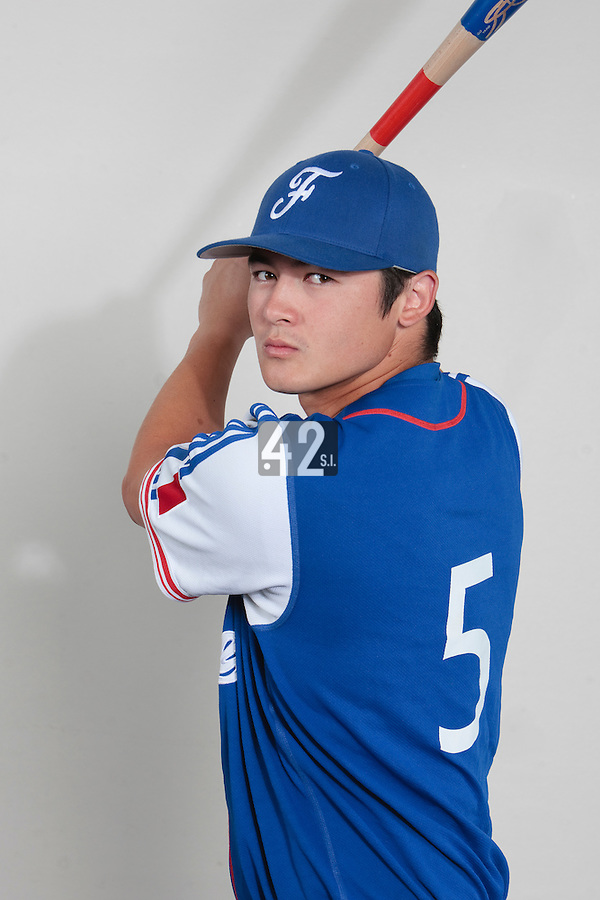 23 july 2010: Kenji Hagiwara poses prior to the 2010 European Championship Seniors, in Mulhouse, France.