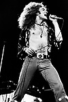 Led Zeppelin 1975 Robert Plant Earls Court May 25th 1975<br /> &copy; Chris Walter