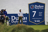 Haydn Porteous (RSA) on the 7th tee during Round 2 of the Irish Open at LaHinch Golf Club, LaHinch, Co. Clare on Friday 5th July 2019.<br /> Picture:  Thos Caffrey / Golffile<br /> <br /> All photos usage must carry mandatory copyright credit (© Golffile | Thos Caffrey)
