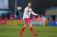 Ben Wilmot of Stevenage during Stevenage vs Reading, Emirates FA Cup Football at the Lamex Stadium on 6th January 2018