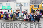 The large crowd at the Rathmore 1916 remeberance ceremony  on Sunday